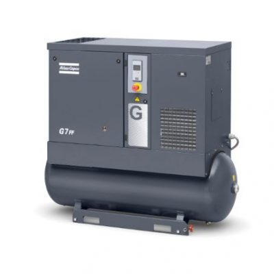 G7 Oil-injected screw compressor - For web